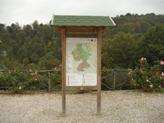 Le Torri Di Bagnara : Map  of our 1500 acres estate & natural reserve
