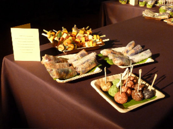 Restaurant de la Galerie : Petit cocktail dinatoire (credits J.A)