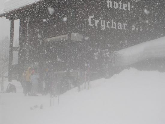 Chalet-Hotel Crychar : Pour changer du plein soleil