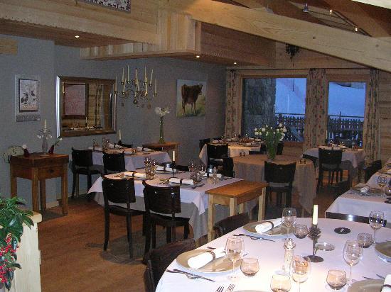 Hôtel Spa Crychar : La table, ah la table ...