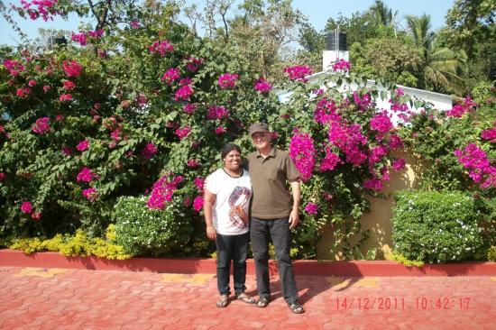 Cochichos Resort: Анна -хозяйка отели