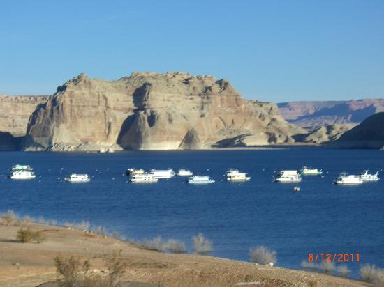 Lake Powell Resort: Lake Powell and marina