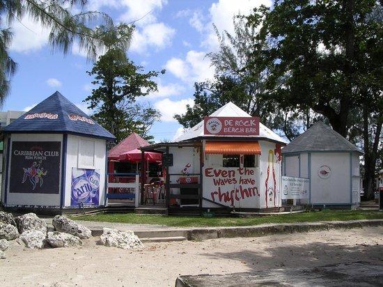 De Rock Beach Bar: De Rock Bar view from beach