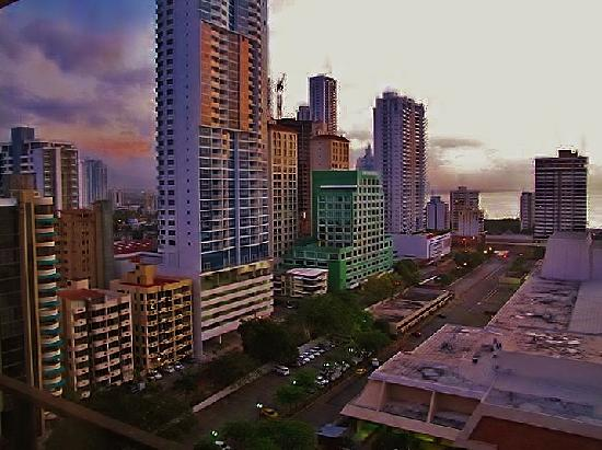Sheraton Grand Panama: View from the 15th Floor Room