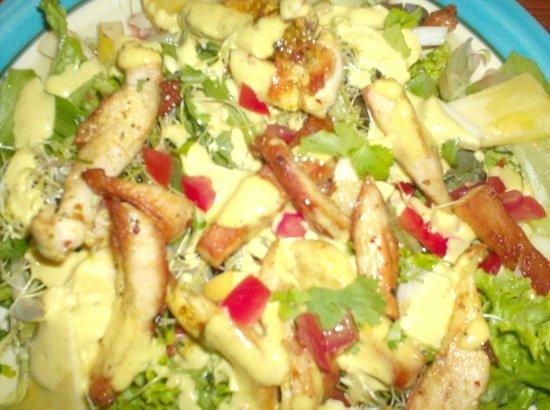 Restaurant-Bistro De Twijfelaar : Een heerlijke salade