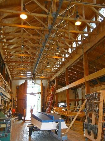 North Carolina Maritime Museum: Wooden Boat Restoration Facility