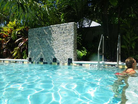 Travelers Palm Inn: By the pool