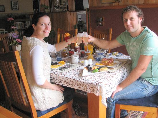Ambleside Bed & Breakfast: Guests on Honeymoon