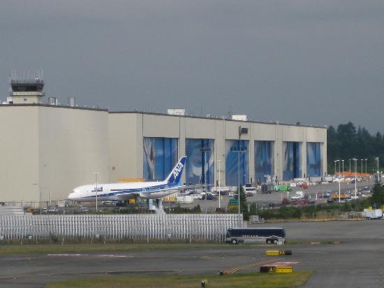 Future of Flight Aviation Center & Boeing Tour: The main building of the factory