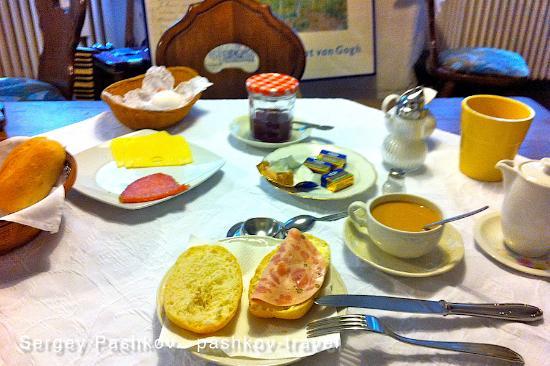 Weinhaus Moselschaenke: завтрак