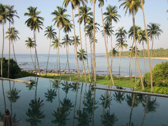 Amanwella: view from the pool