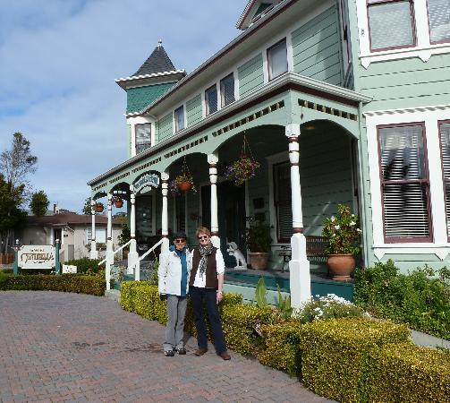 In front of The Centrella Inn Feb.2012