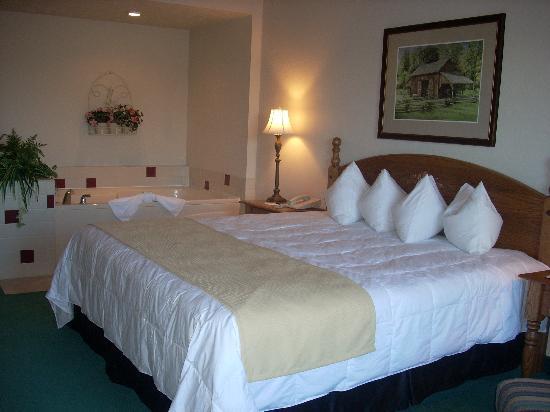 The Van Buren Hotel at Shipshewana: Jacuzzi Suite-The feeling of luxury!