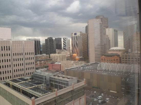 Crowne Plaza Hotel Denver: View from our room