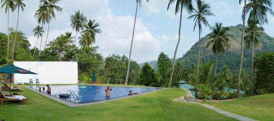 Brook Boutique Hotel & Spa: beautiful terraced pool area