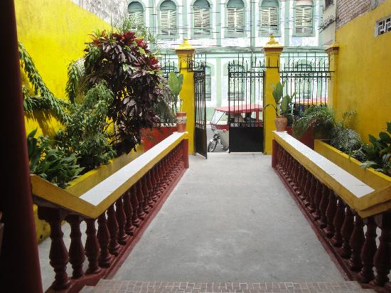 Hotel La Casa del Frances: devant l'hotel