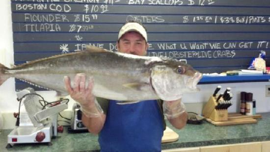 Big Water Fish Market: doesn't get fresher than this!