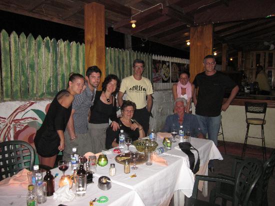 Sunrise Club: una fantastica cena tra amici nella casa sunrise!!!
