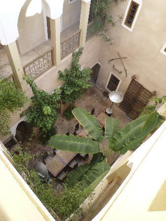 Riad Sidi Mimoune: Vue de la salle à manger