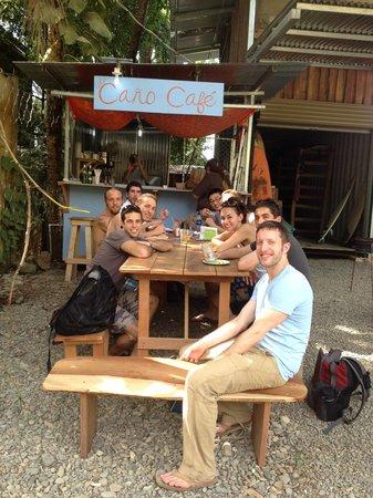 Isla Cano Cafe!