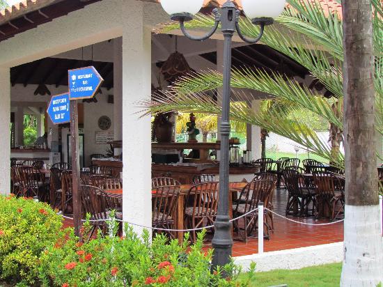 Hotel Le Flamboyant: Restaurant / Comedor