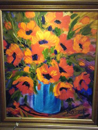 The Oasis Boutique Hotel: One of the lovely paintings