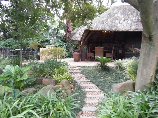 The Oasis Boutique Hotel: In the gardens!