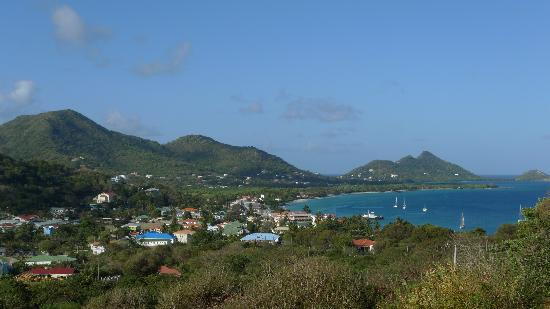 Carriacou Grand View: View from the 3rd floor balcony