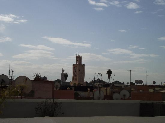 Riad Jardin des Reves: The rooftop room