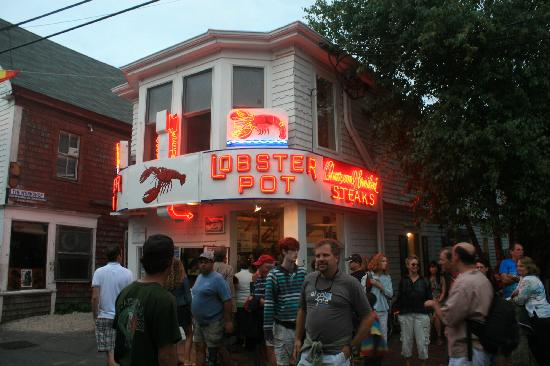 Provincetown, MA: The Lobster Pot Restaurant.