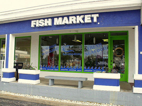 Big Water Fish Market: store front