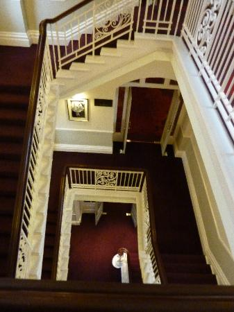 The Grosvenor Hotel: The Victorian Staircase