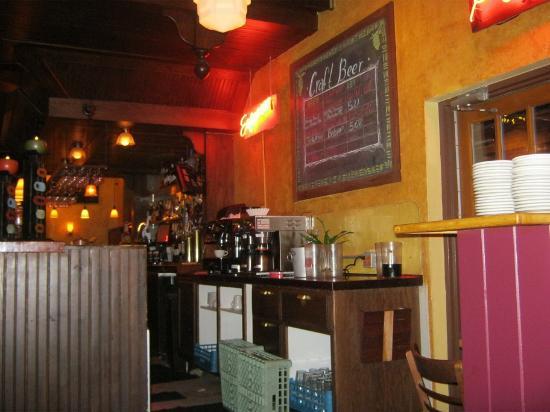 The City Cafe bar