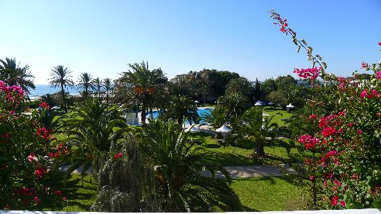 Hotel Palace Oceana Hammamet: Our view