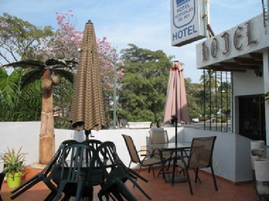 Hotel Hospedajes del Rey: Public Roof Balcony