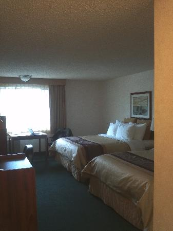 BEST WESTERN Cascadia Inn: Nice big rooms