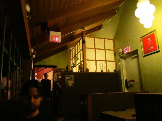 Shibui Japanese Restaurant : My boyfriend with beautiful Shibui as the backdrop :)