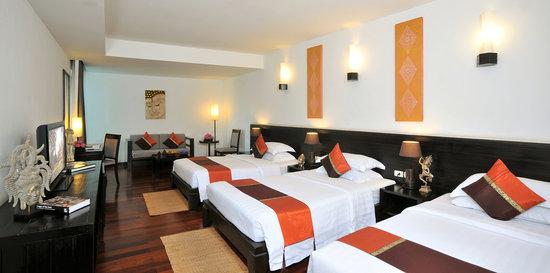 Tara Angkor Hotel : superior Triple bed