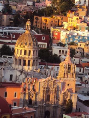 Hospedería del Truco 7: hermosa vista desde el balcon