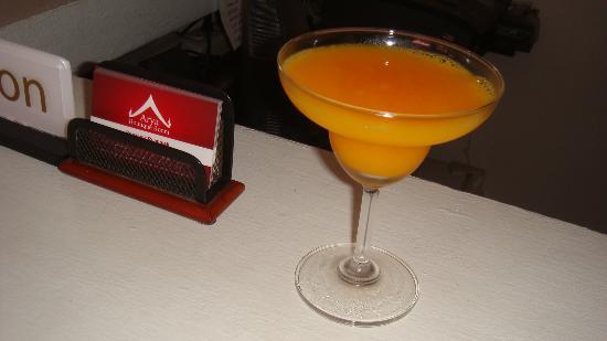 أريا بوتيك رووم: complimentary drink upon arrival =)