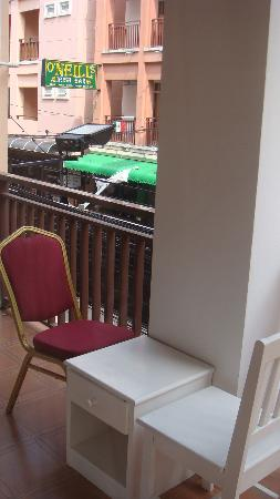 Arya Boutique Room: balcony from room 102