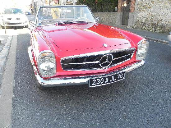 Musée Rambolitrain : Vintage Mercedes