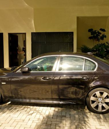 Hard Rock Hotel Penang : Private carpark and entrance into the suite.