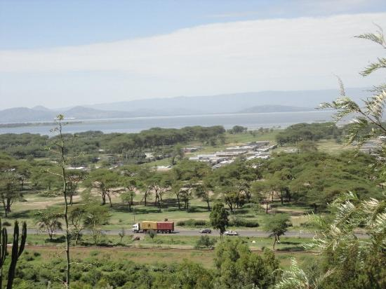 Lake Naivasha Panorama Park & Lodge: Nice view