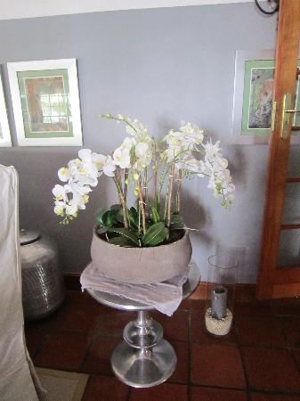 Franschhoek Manor: Flowery detail