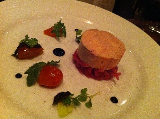 foie gras torchon appetizer picture of db bistro moderne. Black Bedroom Furniture Sets. Home Design Ideas