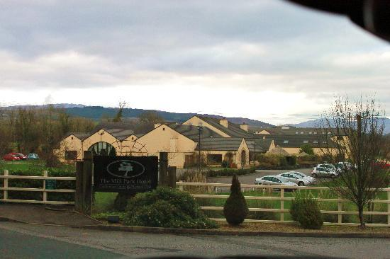 Donegal Town, Irlanda: The Mill Park from the road