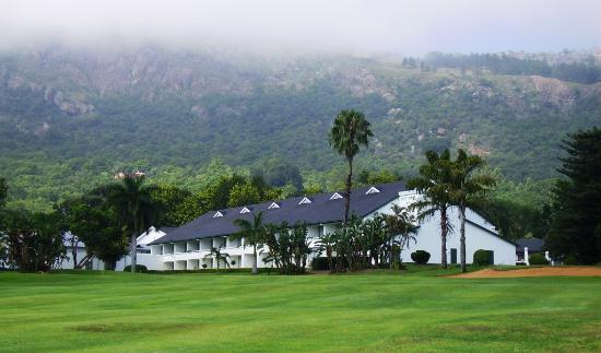 Ezulwini, Swaziland: The Majestic Hotel in the mist