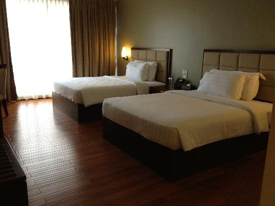 Armada Hotel Manila: Comfortable beds