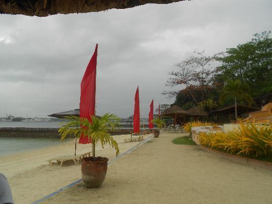BlueJaz Water Park: The backdrop